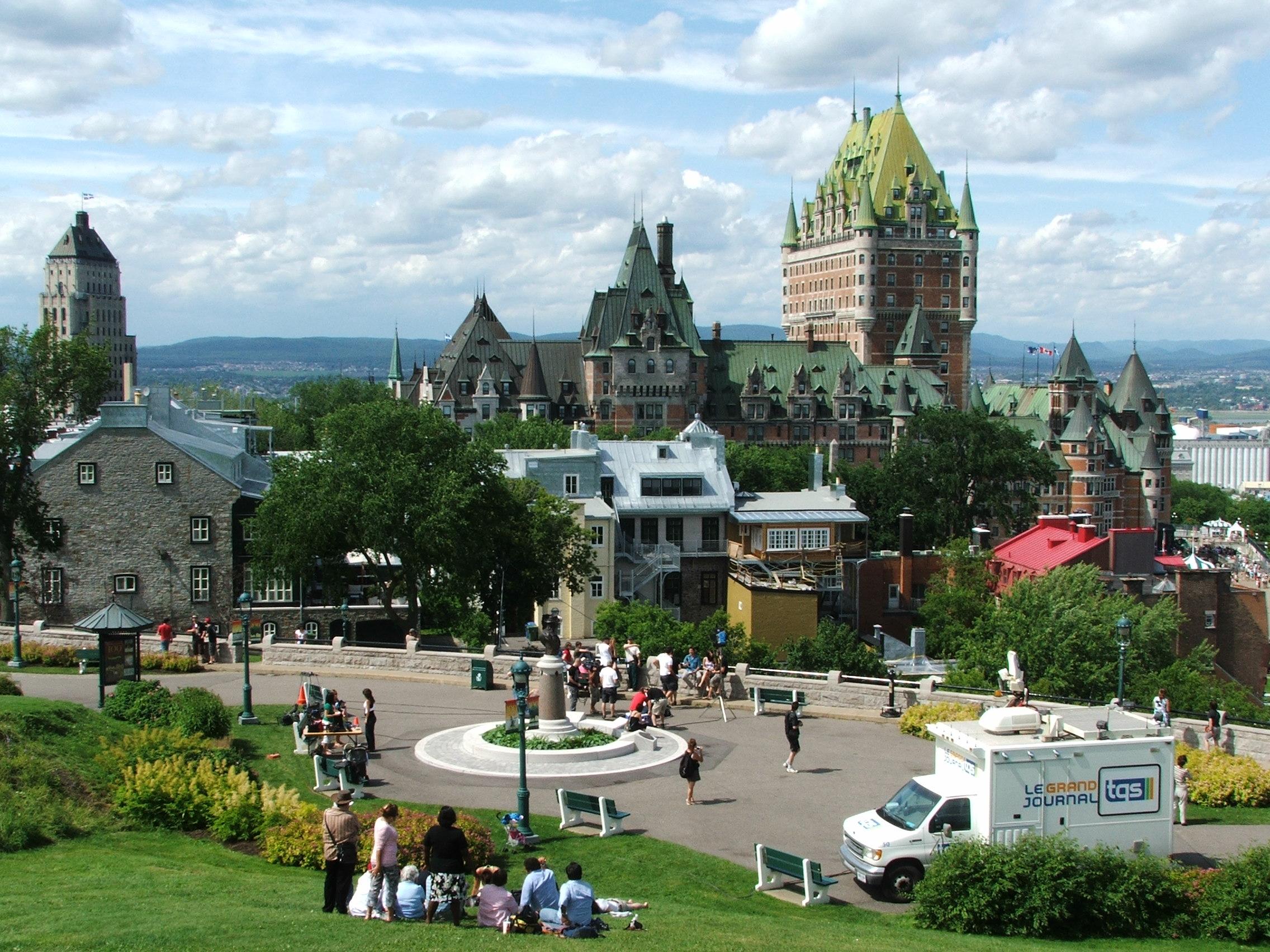 Québec óvárosa világörökségi helyszín